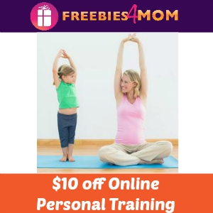 $10 off Online Personal Training Session
