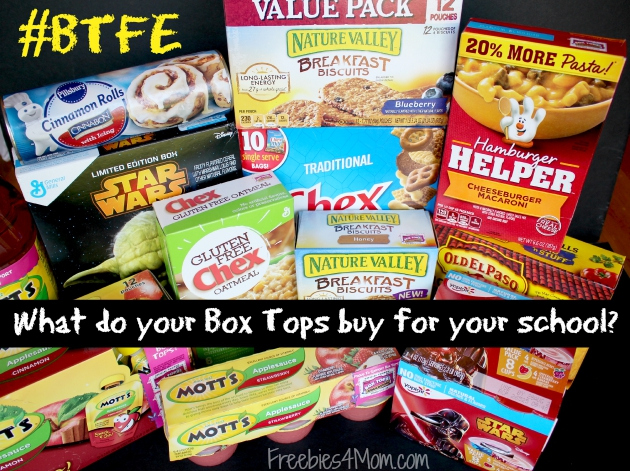 What do your Box Tops buy for your school?