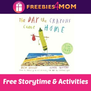 Free Day the Crayons Event at Barnes & Noble