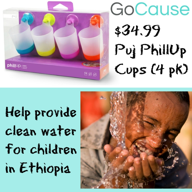 GoCause Deal: $34.99 Puj PhillUp Cups (4 pk)