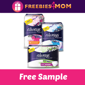 Free Sample Always Discreet