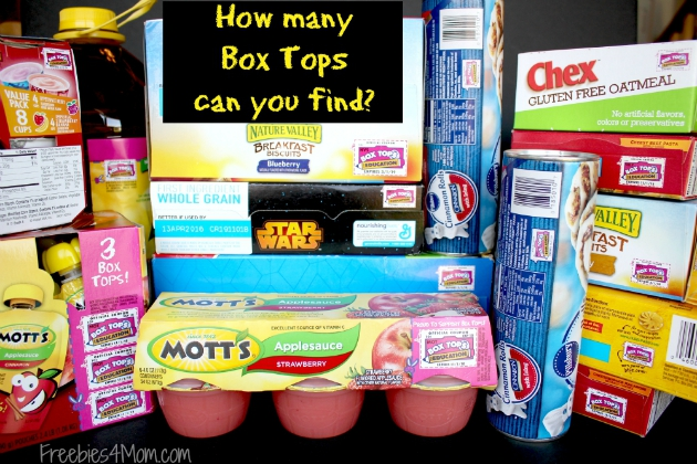 How many Box Tops can you find in this photo?
