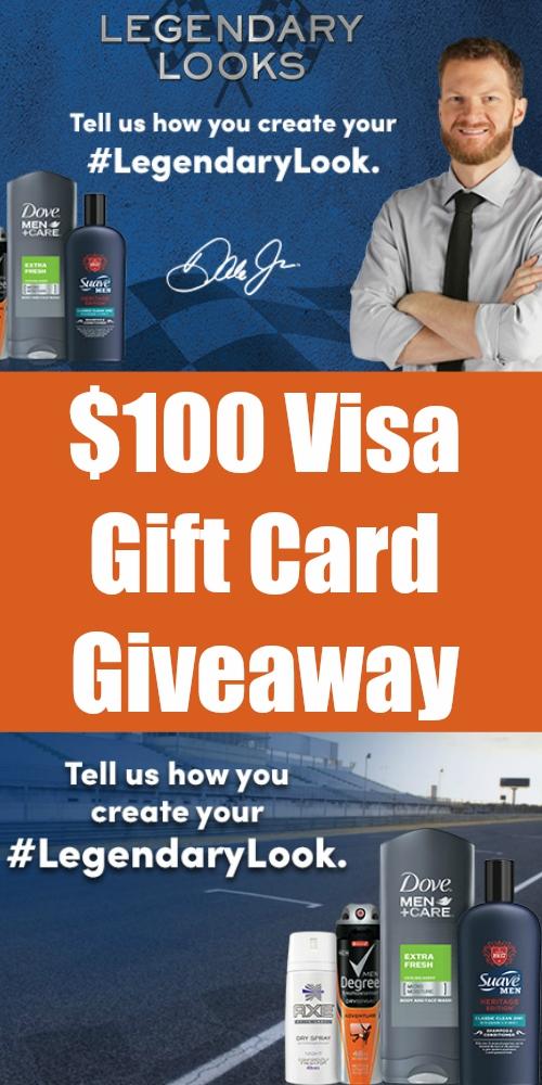 $100 Visa Gift Card Giveaway ~ Get #LegendaryLooks