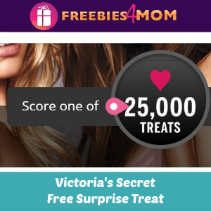 Free Surprise Treat from Victoria's Secret