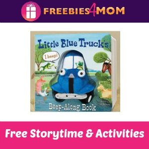 Free Little Blue Truck Storytime at Barnes & Noble