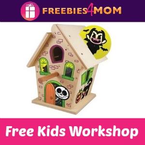 Free Haunted Birdhouse Lowe's Kids Clinic Build