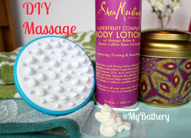 DIY Massage with The Bathery beauty tools