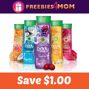 Save $1.00 on Herbel Essences Body Wash