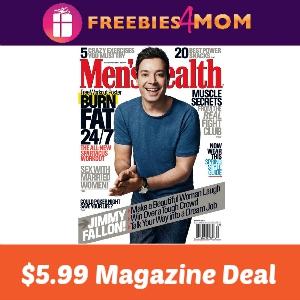 Magazine Deal: Men's Health $5.99
