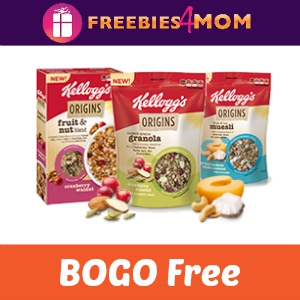 BOGO Free Kellogg's Origins ($3.74 Value)
