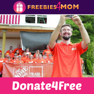 Donate4Free: Home Depot #ServiceSelfie