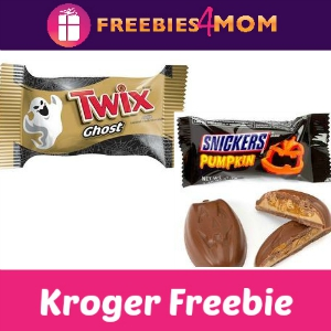 Free Snickers Pumpkin or Twix Ghost at Kroger