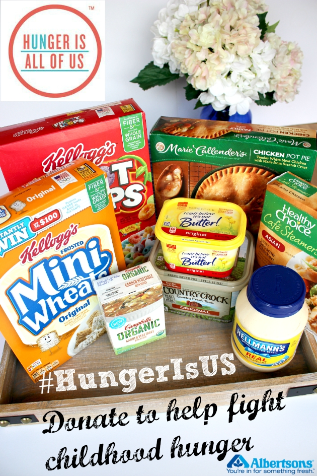 Support Hunger Is campaign at Albertsons Safeway stores