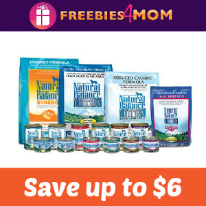 Save up to $6 on Blue Natural Dog or Cat Food