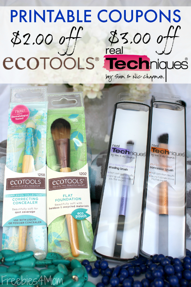 photo about Ecotools Printable Coupon named Expired* EcoTools® and True Insider secrets Make-up Brush Discount coupons