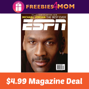 Magazine Deal: ESPN $4.99 ($0.19/issue)