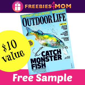 Free Outdoor Life Magazine ($10 value)