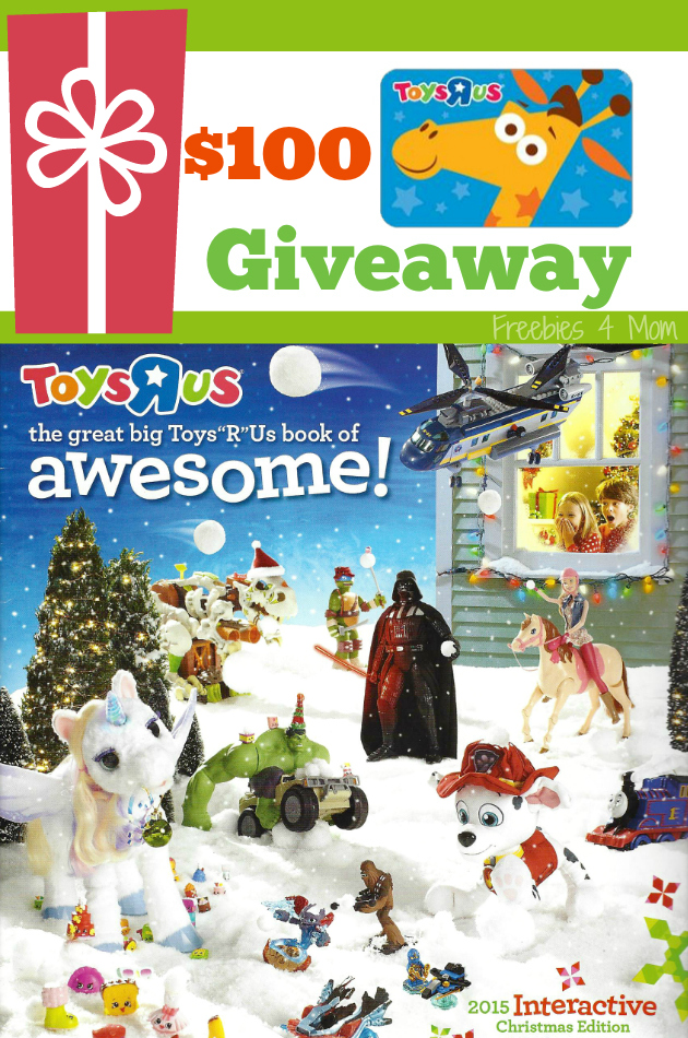 "$100 Toys""R""Us Giveaway ~ The Great Big Toys""R""Us Book of Awesome"