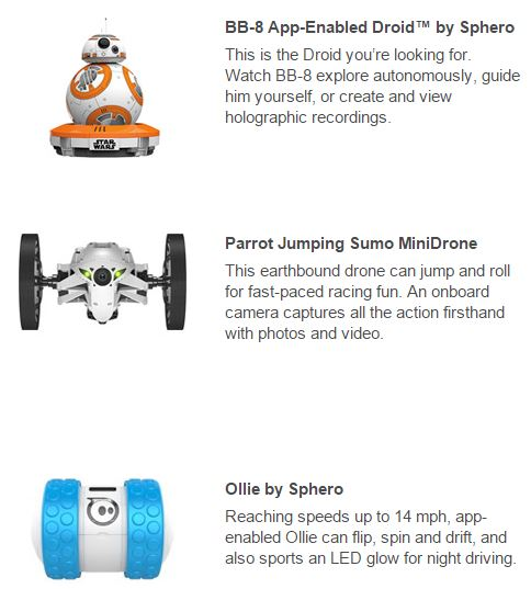 Best Buy Best Tech Gifts 2015