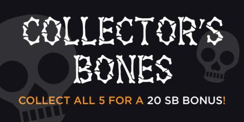 Swagbucks Halloween Bonus with Collector's Bones