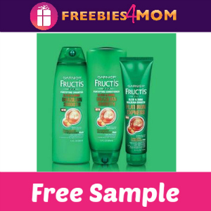 Free Sample Garnier Fructis Brazilian Smooth