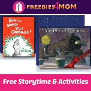 Holiday Storytimes at Barnes & Noble