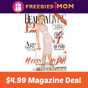 Magazine Deal: Healthy Living $4.99