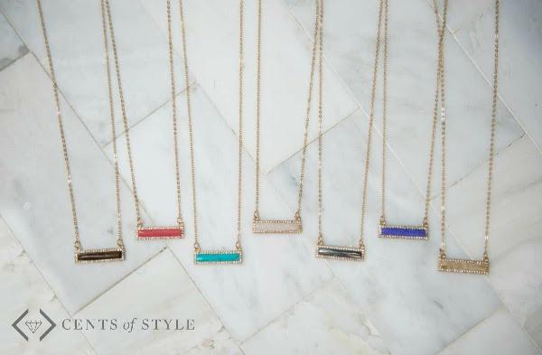 50% off Semi-Precious Stone Necklaces (starting at $7.48)