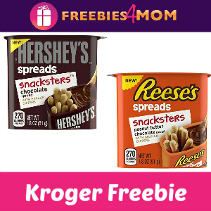 Free Reese's or Hersheys Spreads Snacksters