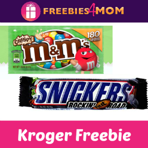 Free M&M's Crispy or Snickers Rockin' Nut Road