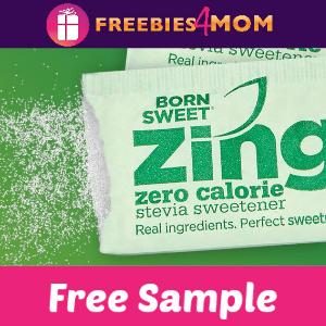 Free Sample Zing™ Zero Calorie Stevia Sweetener