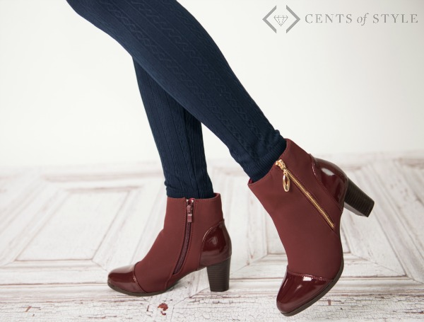 Cents of Style: Fall Combos Booties & Scarves