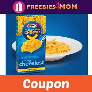 Coupon: Save $1.00 off 3 Kraft Mac & Cheese