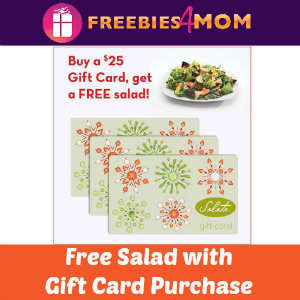 Free Salad with $25 Salata Gift Card