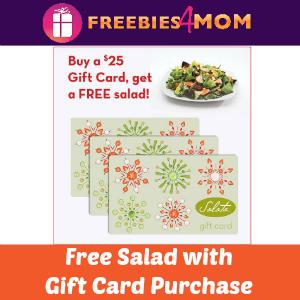 Free Salad with $25 Salata Gift Card