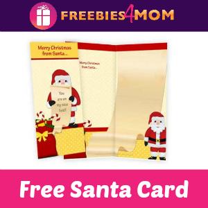 Free Santa Card *First 3,000*
