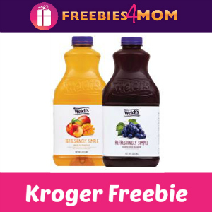 Free Welch's Refreshingly Simple at Kroger