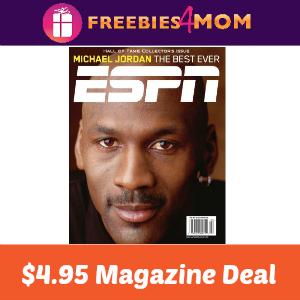 ESPN Magazine $4.95