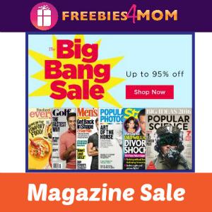Big Bang Magazine Sale