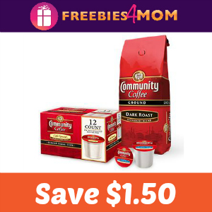 Coupon: $1.50 off Community Coffee