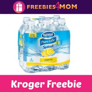 Free Nestle Pure Life Splash (6 pk) at Kroger