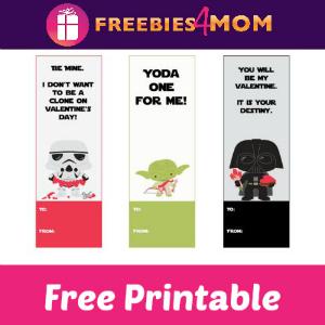 Free Printable Star Wars Valentine Bookmarks