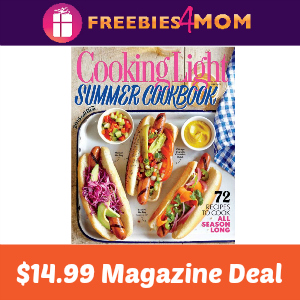 Magazine Deal: Cooking Light $14.99