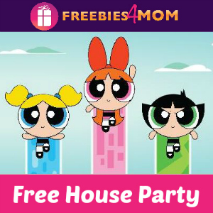 Free House Party: The Powerpuff Girls Premiere