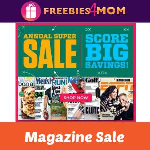 Magazine Annual Super Sale