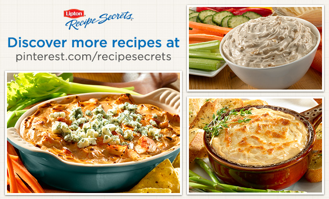 Dip Recipes using Lipton Recipe Secrets from Walmart