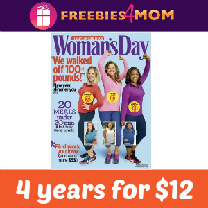 Magazine Deal: Woman's Day 4 years for $12