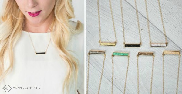 50% Off Druzy Jewelry (Starting at $5.98)