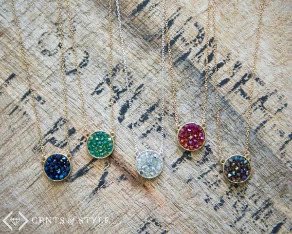 50% Off Druzy Jewelry (Starting at $5.98)