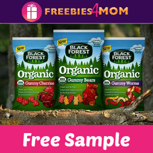 Free Sample Black Forest Organic Gummies